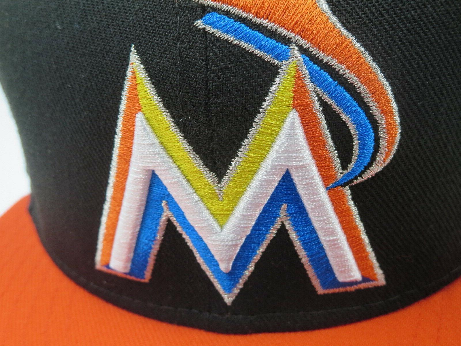 Miami Orange New Era World Series Cap