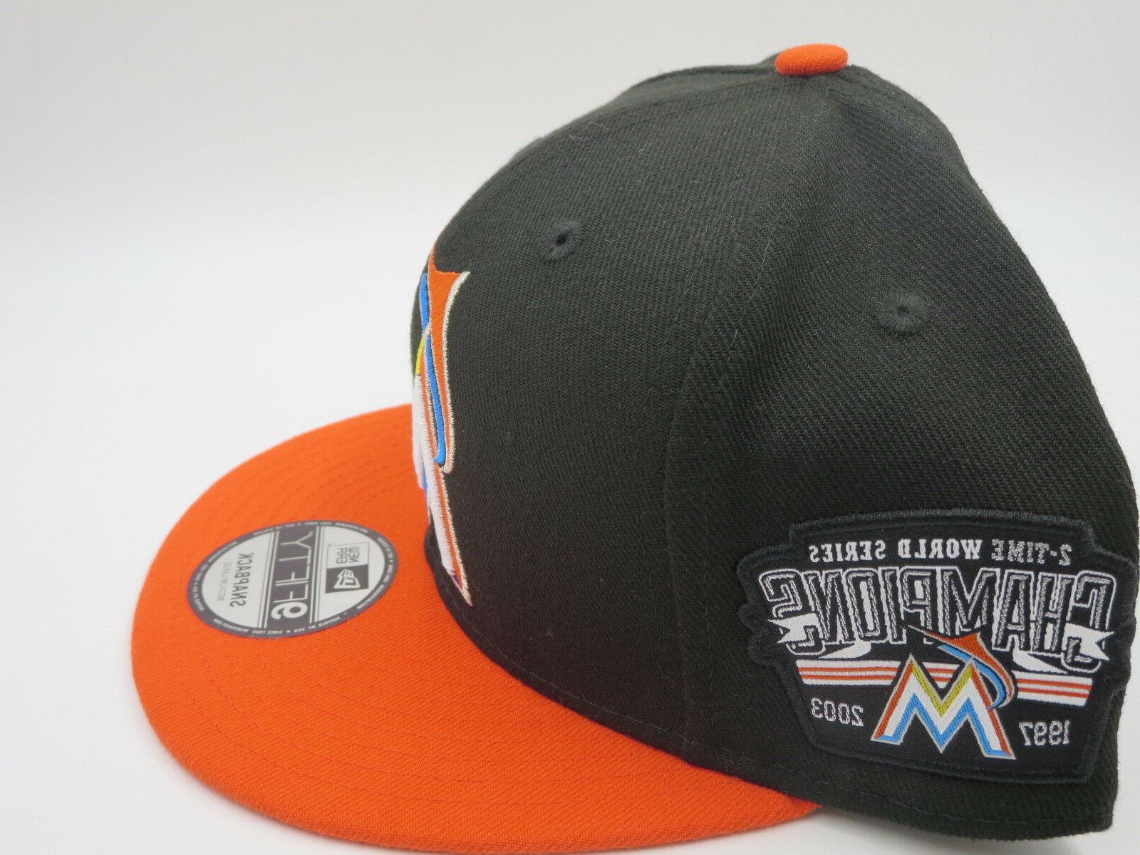 Miami Era World Patch Snapback Hat Cap M/L