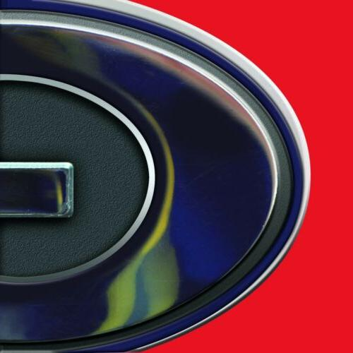 Miami Marlins Premium Solid Metal Chrome Auto Emblem Decal Baseball