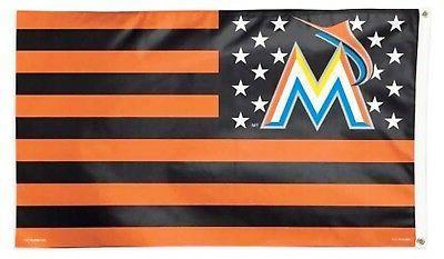 miami marlins stripes wc02712115 3x5 flag w