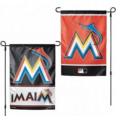 miami marlins wc garden flag premium 2