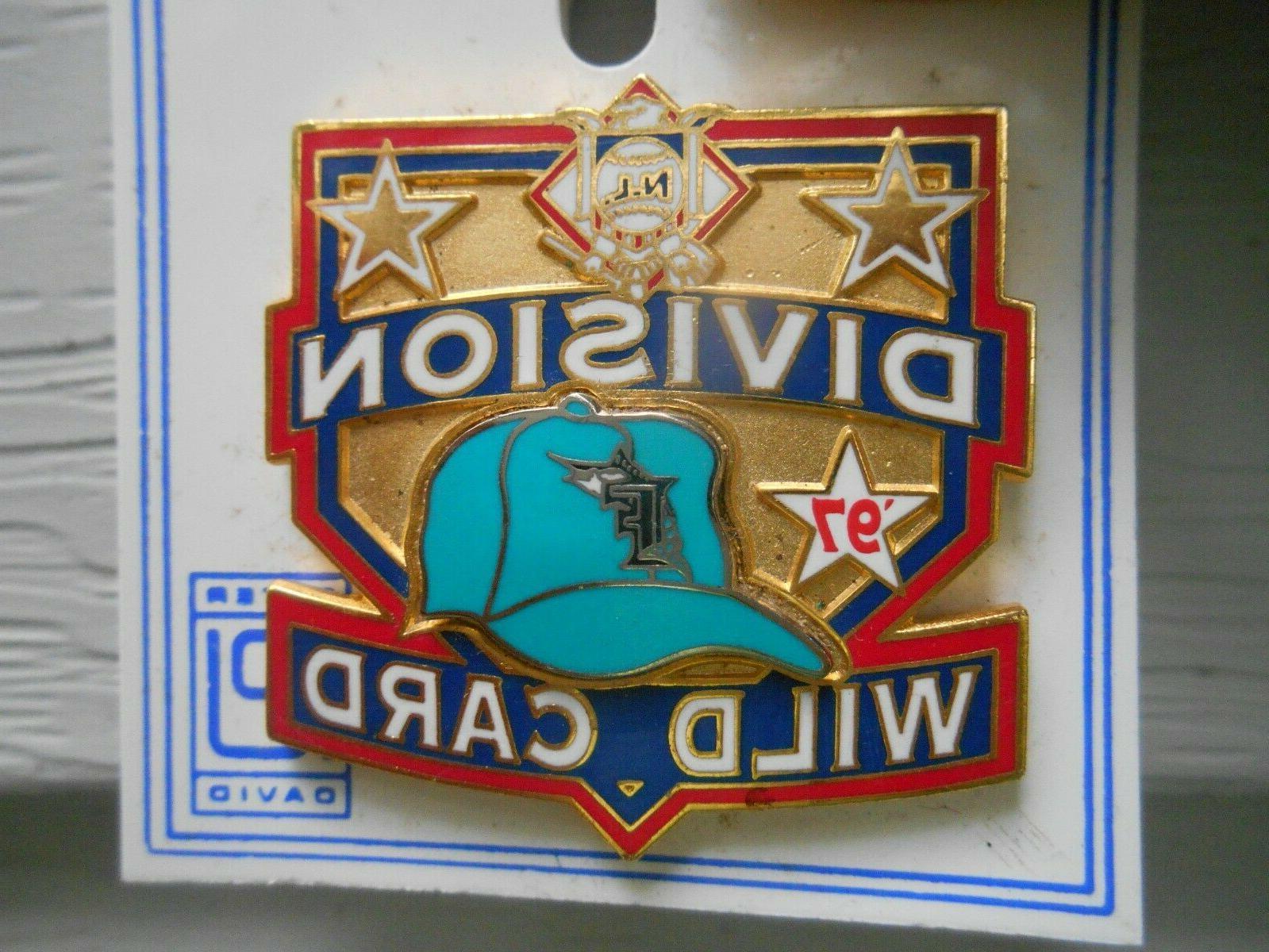 mlb baseball miami florida marlins collector pin