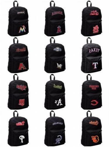 mlb full size sprint backpack black unisex