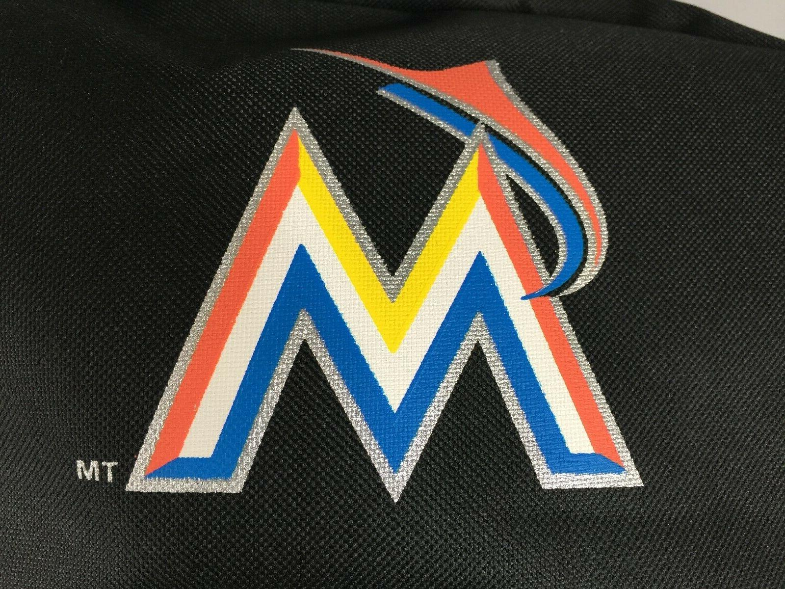 MLB MIAMI MARLINS COLLECTIBLES BACKPACK NEW TAGS PADDED