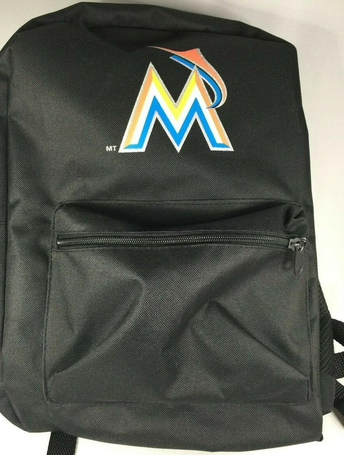 mlb miami marlins backpack new with tags