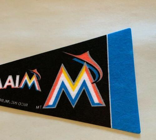 "MLB Mini 4""x9"" Banner Felt *NEW*"