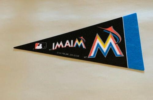 mlb miami marlins baseball mini pennant 4
