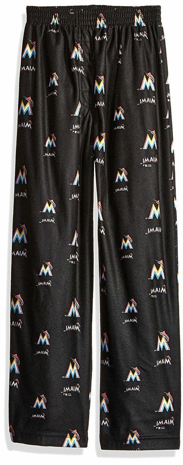 mlb miami marlins boys 4 7 sleepwear