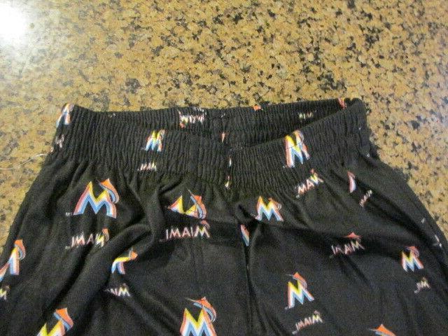 MLB Miami Marlins Lounge Pants Pajamas Bottom NWT