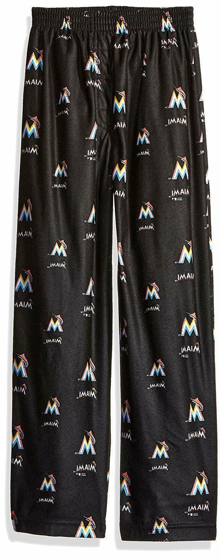 mlb miami marlins boys sleepwear all over