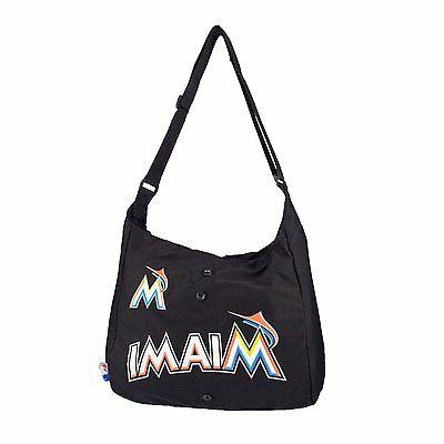 mlb miami marlins jersey style tote messenger