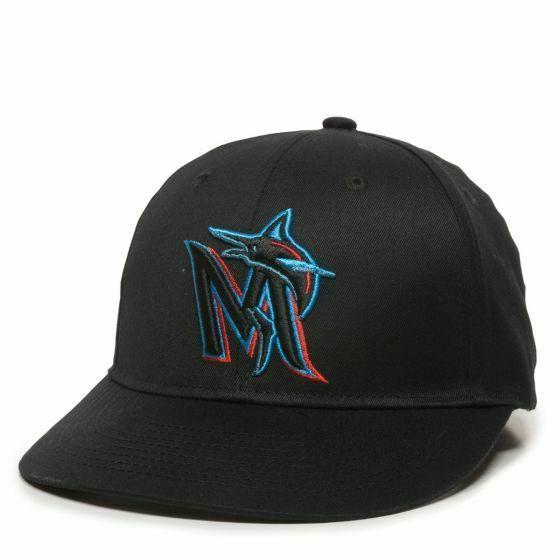miami marlins replica baseball cap adjustable youth