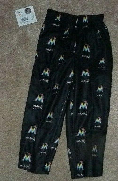 new miami marlins baseball loungewear sleepwear pants