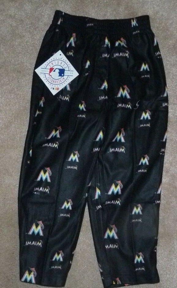 new mlb miami marlins sleepwear loungewear pants