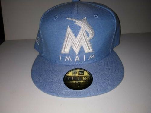 nwt miami marlins 2019 pastalin 59fifty fitted