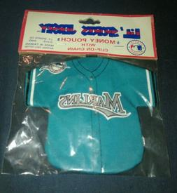 Lot of 3 Vintage Florida/Miami Marlins Sports Brat Keychains