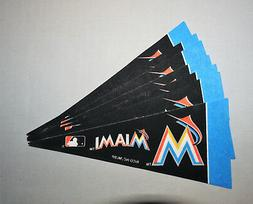 lot of 7 miami marlins mini felt