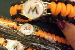Lot of three 3  New MLB Miami Marlins Survival Paracord Base