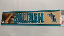 Miami Florida Marlins Bumper Sticker