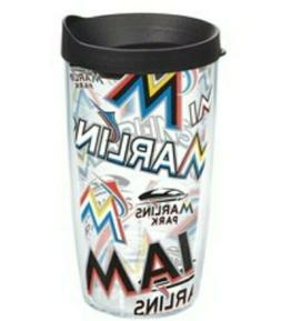Miami Marlins Tervis 16oz. Tumbler ~ Fast Free Shipping