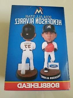 MIAMI MARLINS 2014 ALL STAR HENDERSON ALVAREZ BOBBLEHEAD NEW