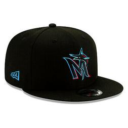 Miami Marlins 2019 New Era 9FIFTY MLB Snapback Hat Cap Flat