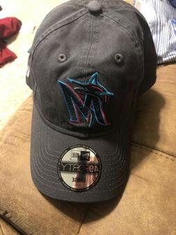 Miami Marlins New Era 2019 Core Classic 9TWENTY Fitted Hat -