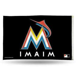 Miami Marlins 3x5 Banner Flag MLB Baseball Team Sports Fan D