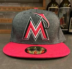 MIAMI MARLINS NEW ERA 59FIFTY 2017 MOTHERS DAY GRAPHITE/PINK