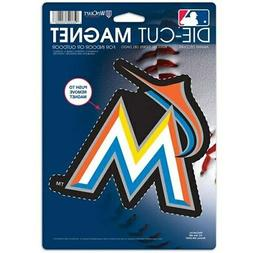"Miami Marlins WinCraft 6"" x 9"" Car Magnet"