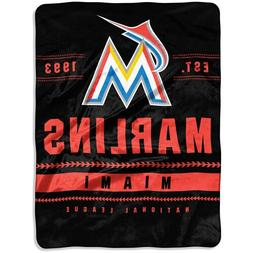 "The Northwest Company Miami Marlins 60"" x 80"" Backstop Silk"