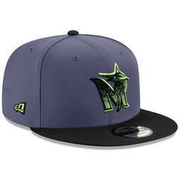 NEW ERA Miami Marlins 9FIFTY Snapback Hat Cap MLB embroidery