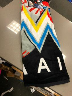 Miami Marlins baseball  Beach Towel 30''x 60'' NEW   Northwe