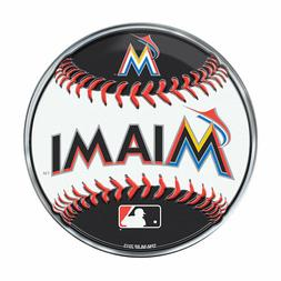 "Miami Marlins Baseball Emblem MLB 3.25"" x 3.25"""