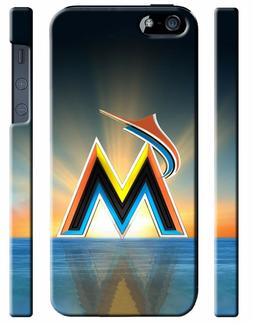 Miami Marlins Baseball iPhone 4S 5 5S 5c 6 6S 7 8 X XS Max X