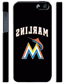 Miami Marlins Baseball iPhone 4S 5 5S 5c 6 6S 7 8 X  XS Max