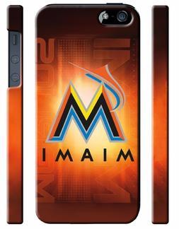 Miami Marlins Baseball iPhone 4S 5 5S 5c 6 6S 7 8 X XS Max X