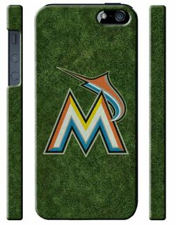 Miami Marlins Baseball Logo iPhone 4S 5 5S 5c 6 6S 7 8 X Plu