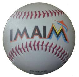 """Miami Marlins Baseball Magnet 4.5"""" Indoor outdoor grade MLB"""