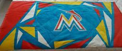 Miami Marlins Beach Towel - Multi Color Stadium Give Away  N