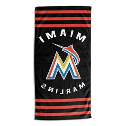 Miami Marlins Beach Towel  OFFICIAL MLB