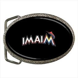 Miami Marlins Belt Buckle - MLB Baseball