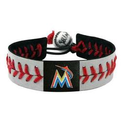 miami marlins bracelet reflective baseball