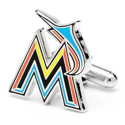 MLB Miami Marlins Cufflinks, Officially Licensed