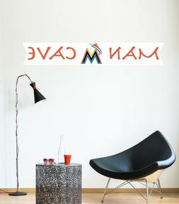 Miami Marlins Decal MLB Logo Vinyl Sport Baseball Man Cave H