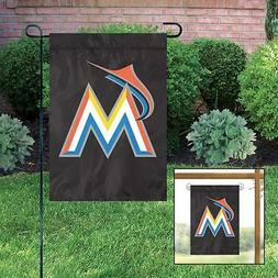 MIAMI MARLINS Embroidered Garden Window FLAG