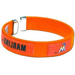 Miami Marlins Fan Band Bracelet Nylon String Cuff Wristband