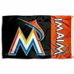 Miami Marlins Flag 3x5 Banner