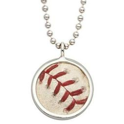 Miami Marlins Tokens & Icons Game-Used Baseball Pendant