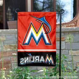 Miami Marlins Garden Flag and Yard Banner